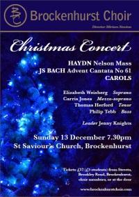 20151213 Christmas Concert Haydn Bach