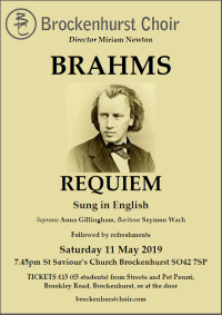 20190511 Brahms Poster Thumbnail